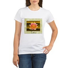 Good Morning Lotus Organic Women's T-Shirt