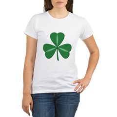 3 Leaf Green Organic Women's T-Shirt