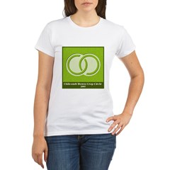 Chilcomb Down Crop Circle Organic Women's T-Shirt