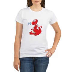 Red Dragon Organic Women's T-Shirt