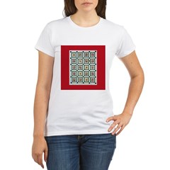 Christmas Holiday Quil Organic Women's T-Shirt