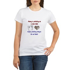 Mommy&Daddying Protecting Organic Women's T-Shirt