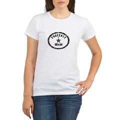 Property of Devan Organic Women's T-Shirt