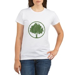 Vintage Tree Organic Women's T-Shirt