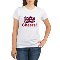 British Cheers! Organic Women's T-Shirt