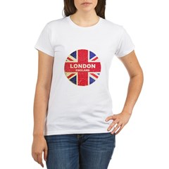 UNION JACK LONDON Organic Women's T-Shirt