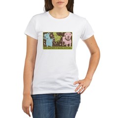 Vintage Pop Ar Organic Women's T-Shirt