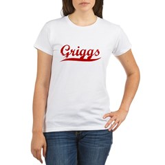 Griggs (red vintage) Organic Women's T-Shirt