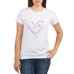 Breast Cancer Organic Women's T-Shirt