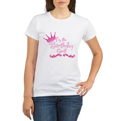 BirthdayGirl2 Organic Women's T-Shirt