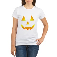 Halloween Baby Bump Organic Women's T-Shirt