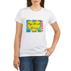 Registered Nurse Organic Women's T-Shirt
