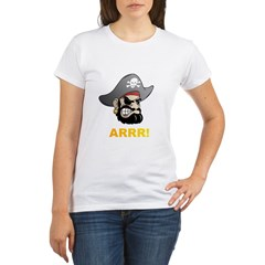Arr Pirate Organic Women's T-Shirt