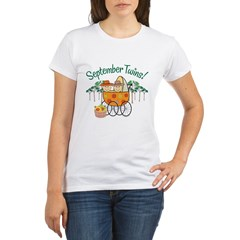 SEPTEMBER TWINS! Organic Women's T-Shirt