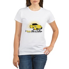 I drive like a Cullen - Alice Organic Women's T-Shirt