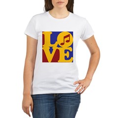 Orchestra Love Organic Women's T-Shirt
