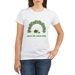 Pediatrician Organic Women's T-Shirt