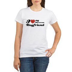 Moroccan Boy friend Organic Women's T-Shirt