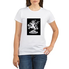 Dakini (Kurukulla) and Cheerleaders Organic Women's T-Shirt