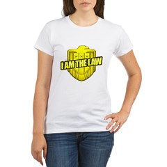 I AM THE LAW: Judge Dredd Organic Women's T-Shirt