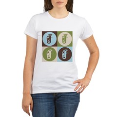 Tuba Pop Art Organic Women's T-Shirt