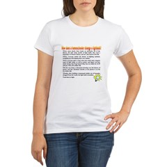 Homeschool Lightbulb Organic Women's T-Shirt