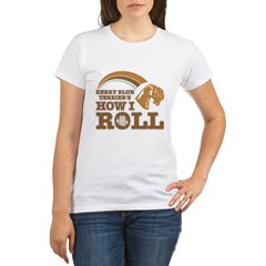 kerry blue terrier's how I roll Organic Women's T-Shirt