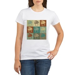 Caving Pop Art Organic Women's T-Shirt