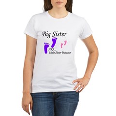 big sister little sister protector Organic Women's T-Shirt
