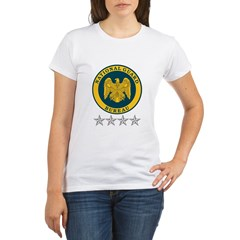National Guard Bureau Seal Organic Women's T-Shirt