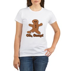 Gingerbread Snap Organic Women's T-Shirt