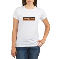 Central Park West in NY Organic Women's T-Shirt