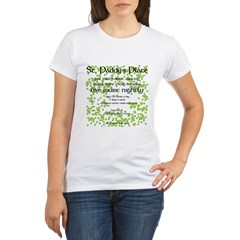 St. Paddy's Place Organic Women's T-Shirt