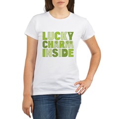 Lucky Charm Inside Organic Women's T-Shirt