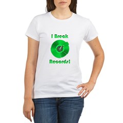 Record Breaker Organic Women's T-Shirt
