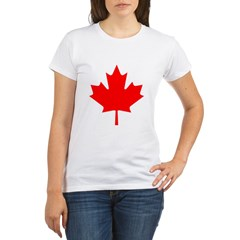 Maple Leaf Organic Women's T-Shirt