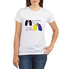 New Lungs.jpg Organic Women's T-Shirt