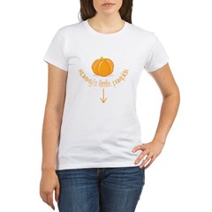 mommy's little pumpkin Organic Women's T-Shirt