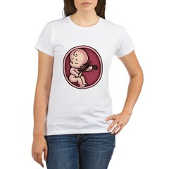 Viol-In-Side Organic Women's T-Shirt
