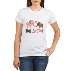 BSModElephant Organic Women's T-Shirt