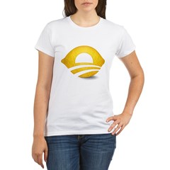 Lemon Presiden Organic Women's T-Shirt