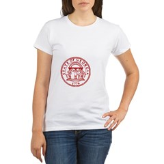 Georgia Seal & Map Organic Women's T-Shirt