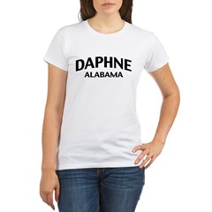 Daphne Alabama Organic Women's T-Shirt