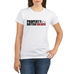 Property of a British Soldier - Organic Women's T-Shirt
