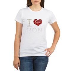 I heart Ron Paul Organic Women's T-Shirt