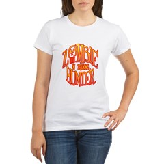 Zombie Hunter In Training Organic Women's T-Shirt