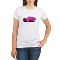 Challenger SRT8 Fuschia Car Organic Women's T-Shirt
