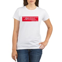 Obama Failed Organic Women's T-Shirt