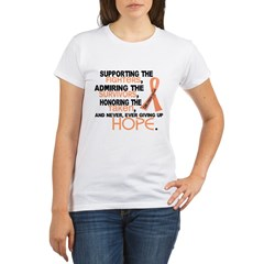 © Supporting Admiring 3.2 Uterine Cancer Shirts Organic Women's T-Shirt
