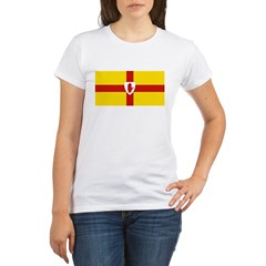 Ulster Flag Organic Women's T-Shirt